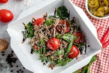 Рецепты салатов с говядиной