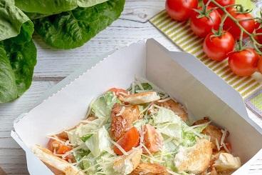 Классические рецепты: цезарь с курицей