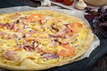 Классические рецепты: пицца карбонара